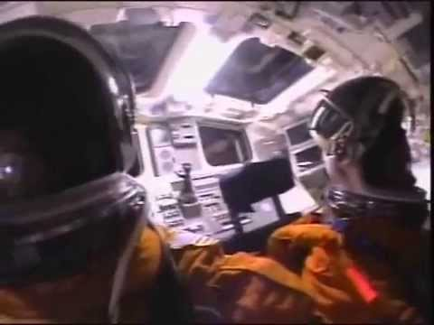 MOMENTS BEFORE - Onboard (with subtitles) Columbia Crash During Re-Entry