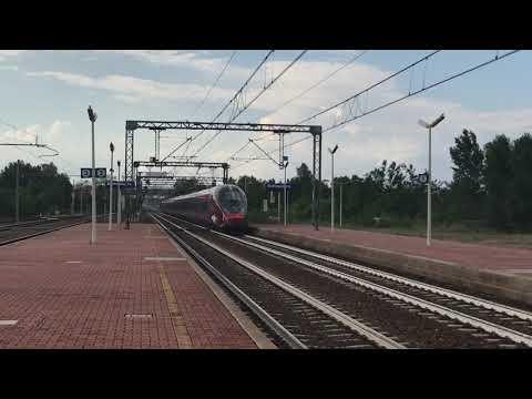 Treni Ad Alta Velocità Sulla Linea Verona-Bologna