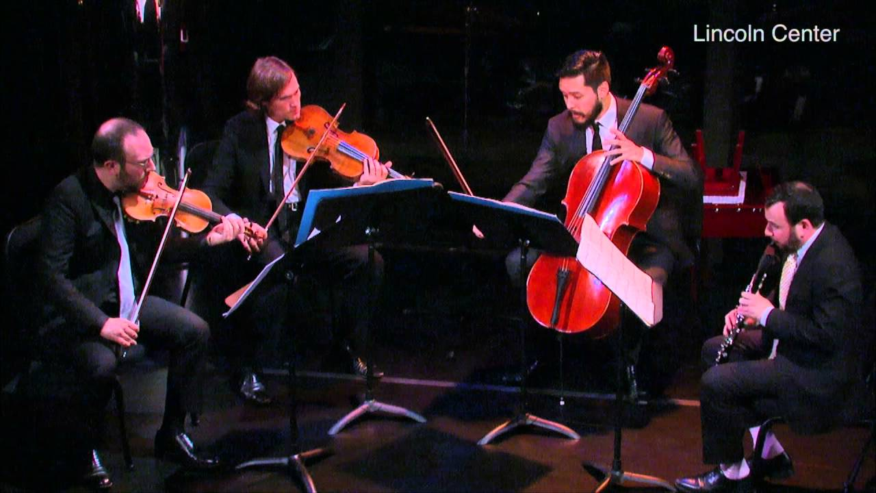 Dai Fujikura: halcyon, for clarinet, violin, viola, cello (International Contemporary Ensemble)