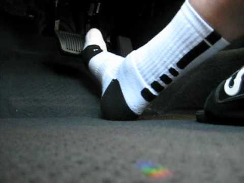 eca5f0822125b7 Driving in Vans Slides and Nike Elites - YouTube