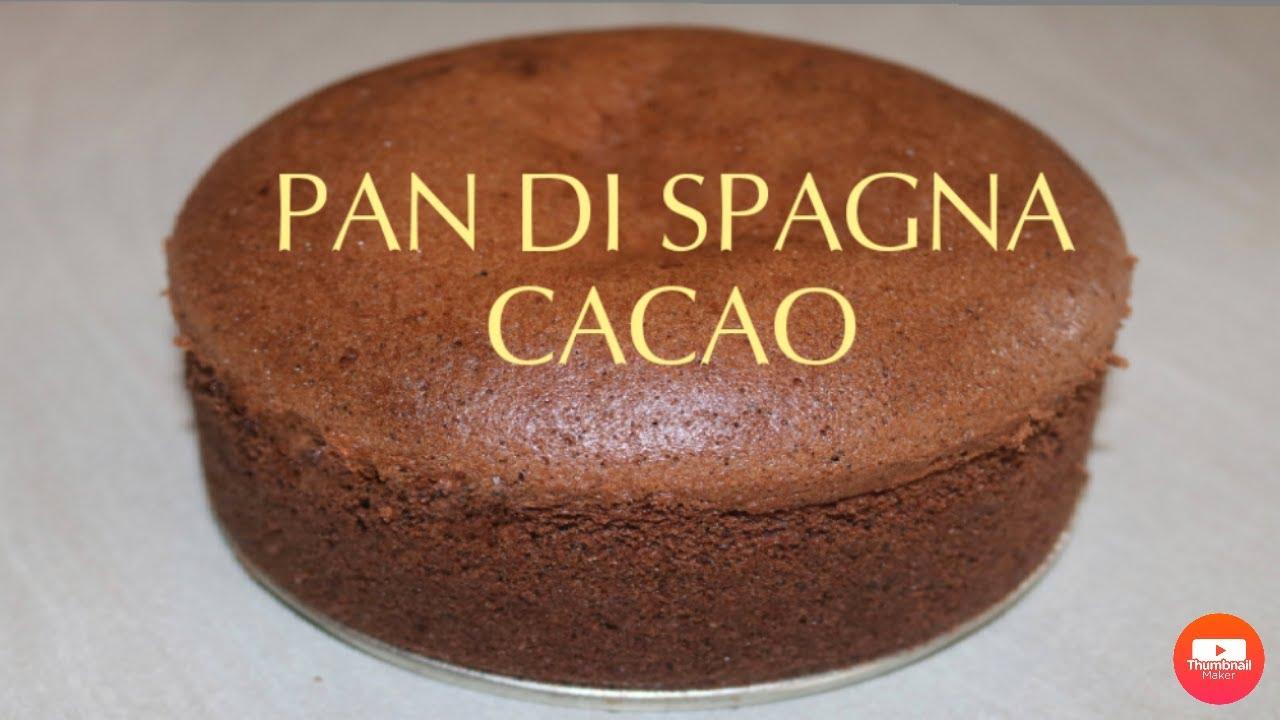 Ricetta Pan Di Spagna Al Cacao Di Benedetta.Pan Di Spagna Cacao Alto E Soffice Youtube