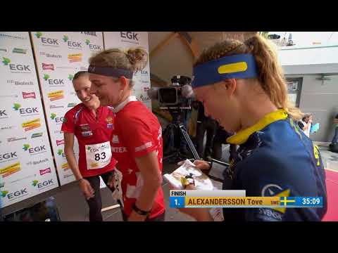 Orienteering World Cup Final 2017: Middle distance highlights