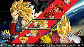 Dragon Ball Z shin budokai 2 GT V3 mod download