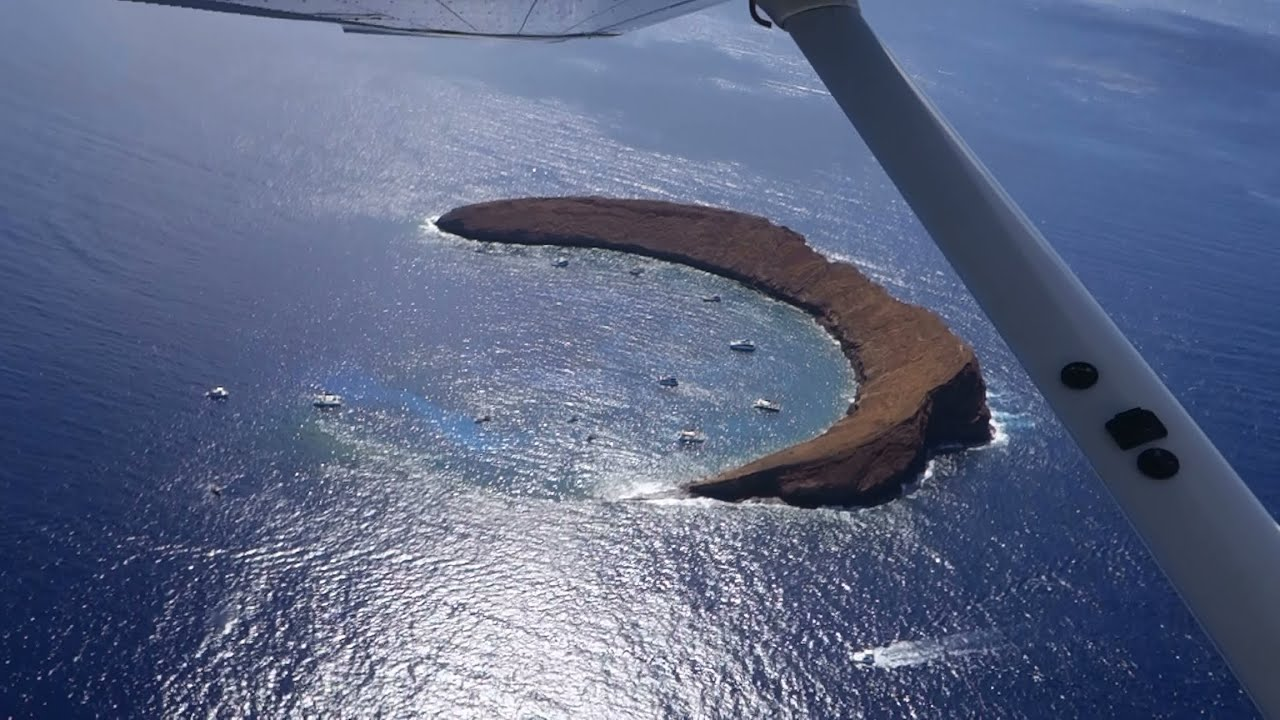 Hdflying to molokini island big beach and haleakala vulcano by hdflying to molokini island big beach and haleakala vulcano by air plane maui hawaii publicscrutiny Image collections