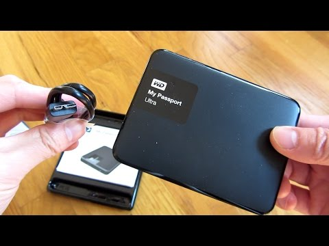 WD My Passport Ultra 2TB Portable Hard Drive
