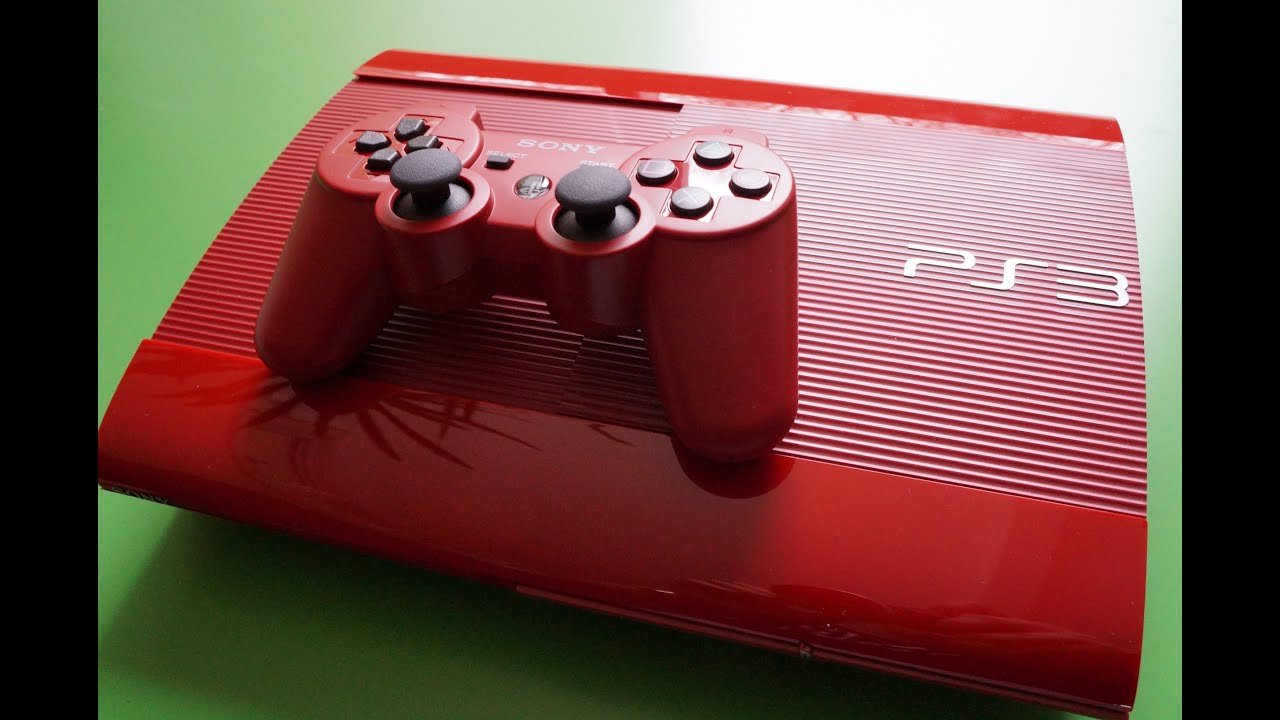 Garnet RED PS3 UNBOXING + REVIEW - YouTube