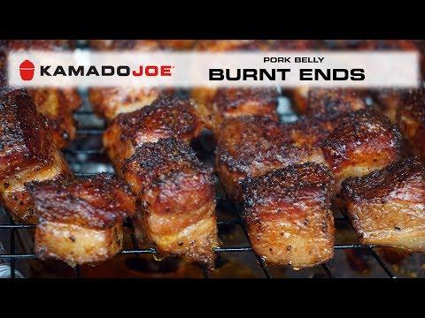 Kamado Joe Pork Belly Burnt Ends
