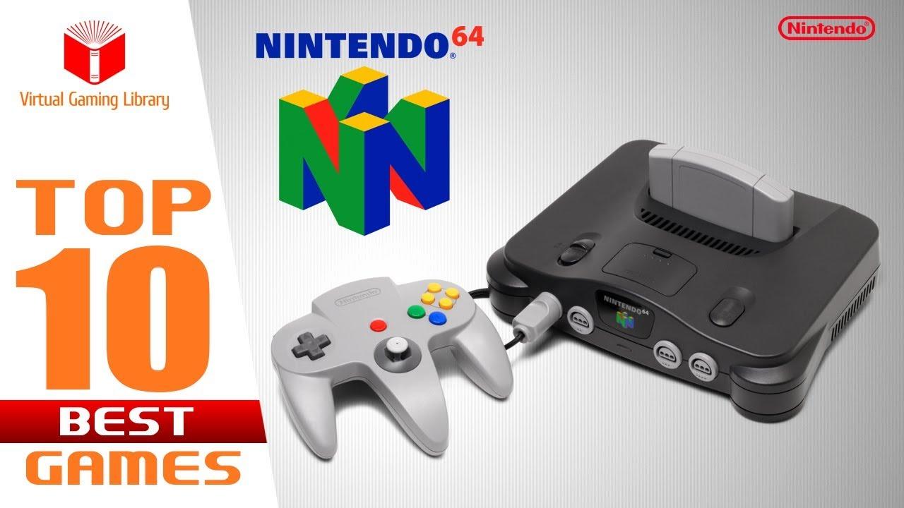 TOP 10 BEST NINTENDO 64 (N64) GAMES by VGL
