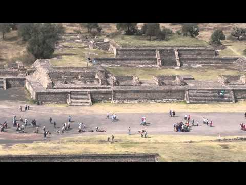 Teotihuacan Ancient Pyramids in Mexico - A View from Pyramid of the Sun