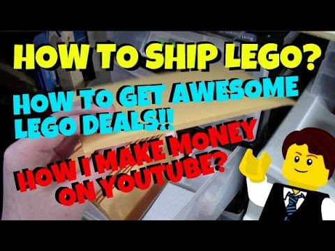 HOW TO SHIP LEGO? HOW TO MAKE MONEY OFF YOUTUBE? & SO MUCH MORE ...
