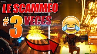 😠🤬SCAMMER is SCAMMED 3 TIMES FOLLOWED *RAGE*💥🔥 - Fortnite Save the World