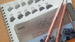 Marco Raffine Sketching Pencils Review - Aliexpress Shopping