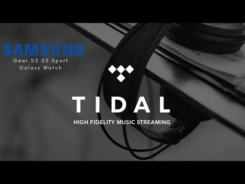 Tidal Music On Your Samsung Watch Mp3