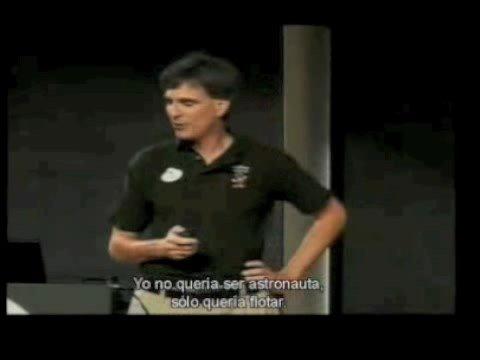 Randy Pausch - Última lección (Last Lecture) 1 / 9 (español)