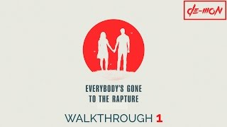 Vídeo Everybody's Gone to the Rapture