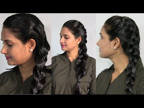 Braid Hairstyles On Oiled And Oily Hair 3 Easy And Quick Side