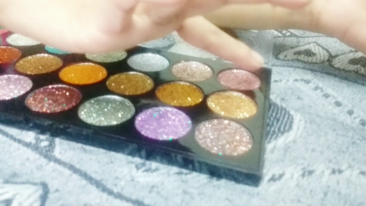 Beauty & Health Miss Rose Eye Makeup 18 Color Metallic Glitter Eyeshadow Palette Highlighter Eye Shadow