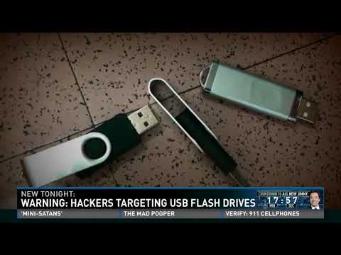 Hacking with a USB stick