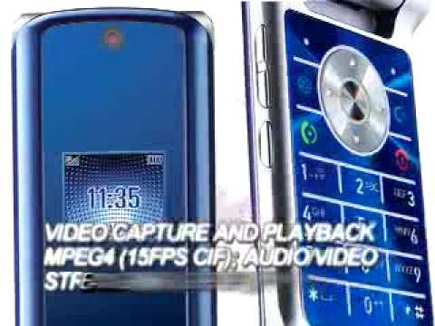 Motorola KRZR K3 promo video