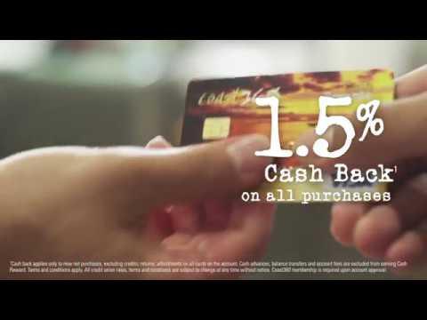 Cash Rewards Visa with Coast360
