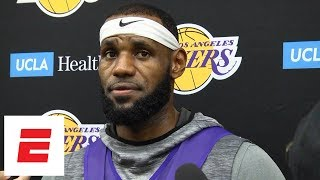 lebron james on practice thursday great day for our ball club espn