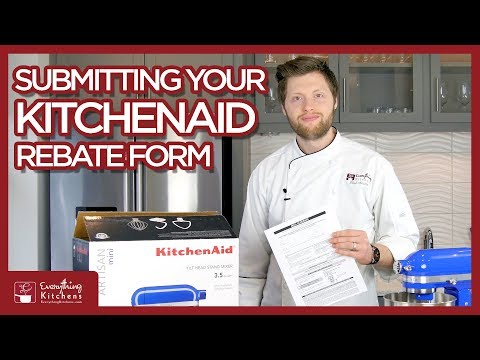 KitchenAid Rebate Form - How To Fill Out And Complete