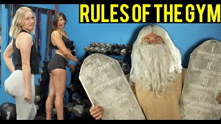 Beginner's Rules of the Gym (Follow These 10 Lifting Commandments!)