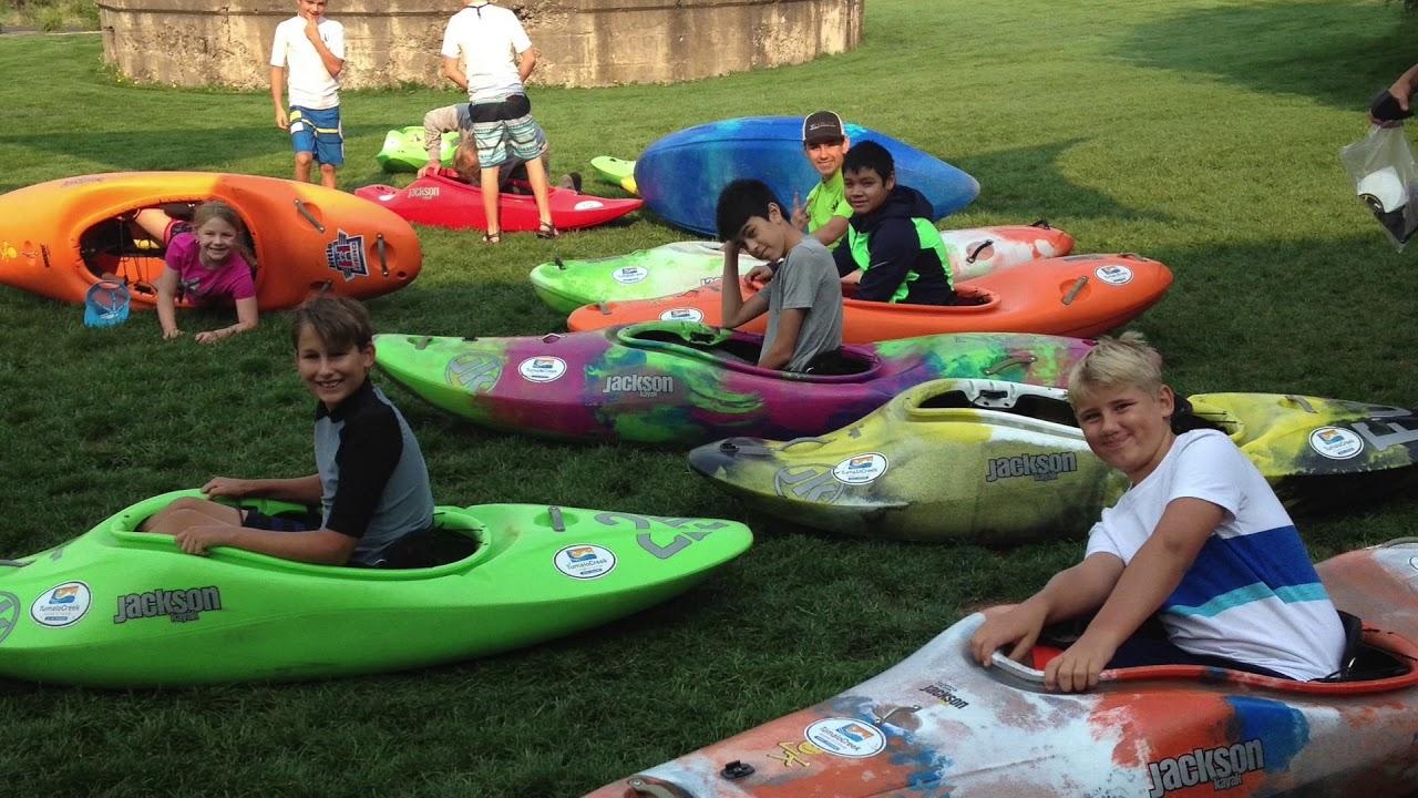 Kids Adventure Paddle Sports Summer Camp With Tumalo Creek Kayak Canoe