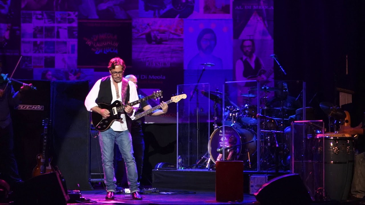 Al Di Meola Elegant Gypsy Tour Youtube