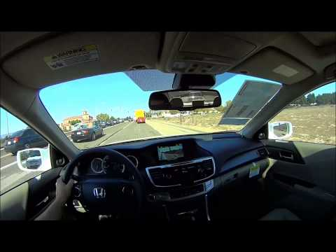 2014 Honda Accord EX-L V6 Test Drive POV
