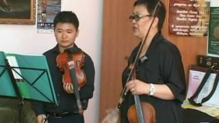 Урок скрипки - Концерт Ляминор Антонио Вивальди