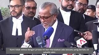 Shafee Abdullah persoal pertukaran hakim
