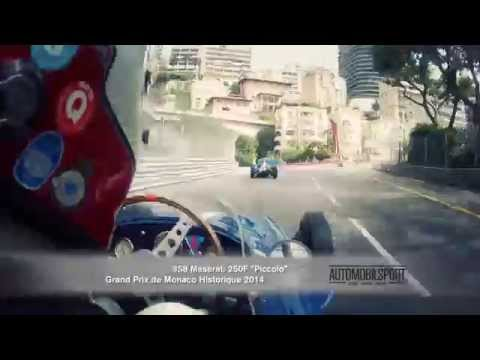 "AUTOMOBILSPORT TV - TRAILER FRANK STIPPLER MASERATI 250F ""PICCOLO"" MONACO HISTORIC GRAND PRIX 2014"