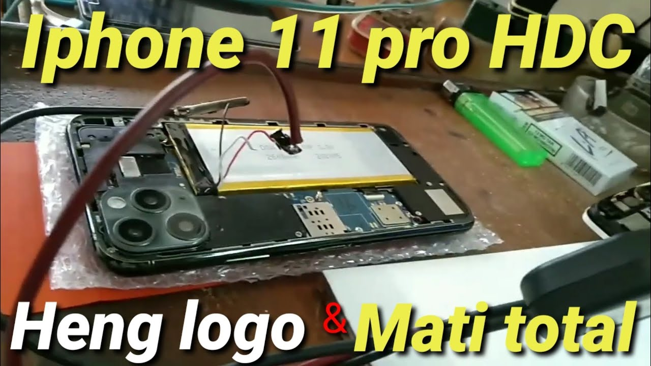 Iphone 11 pro HDC mati total | Iphone 11 pro HDC heng logo ...