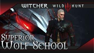 The Witcher 3: Wild Hunt Superior Wolf School Gear Set