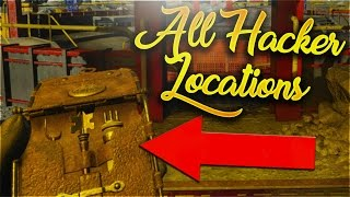 All Hacker Device Locations on Moon Remastered! - Call of Duty Black Ops 3 Zombies Chronicles Guide