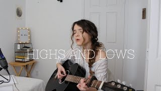 Highs & Lows - Hillsong Young and Free | Live Acoustic Cover by Maria Bindiu