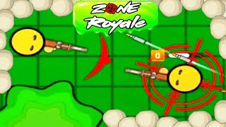 ZONEROYALE.IO - EPIC GAMEPLAY!!! - NEW BATTLE ROYALE GAME - NEW .IO GAME (HD)