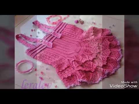 7dbe2a582 Knitting Patterns Gloves اجمل و احلى فساتين اطفال كروشيه صيفى بالباترون