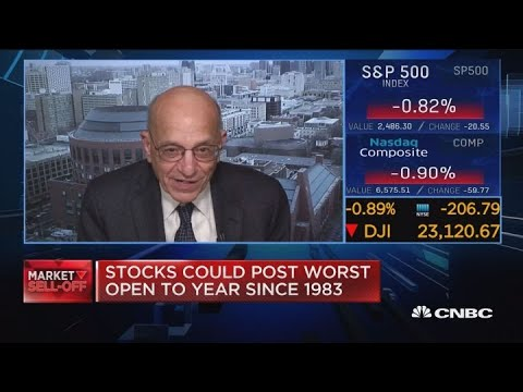 Market slowdown, but no recession in 2019: Jeremy Siegel