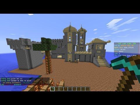 Những công trình tuyệt đẹp trong Minecraft (Vương quốc Ỷ Mộng)
