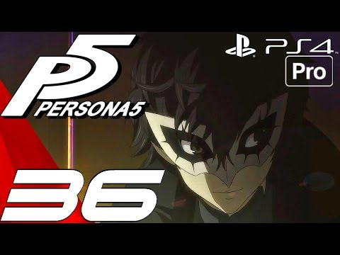 Persona 5 - English Walkthrough Part 36 - Sae Boss Fight & Traitor Revealed (PS4 PRO)