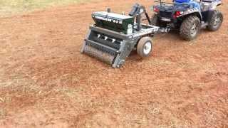 Planting A Food Plot With The Atv Firminator Part 3