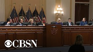 House January 6 committee unanimously votes to hold Steve Bannon in criminal contempt