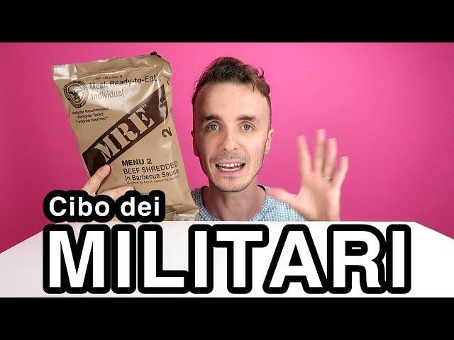 MANGIO CIBO DEI MILITARI!! (MRE - Menu #2)
