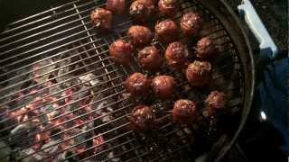 Hog Balls...sausage Balls Wrapped In Bacon
