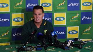 Rassie Erasmus - there will be 4 or 5 changes for the final test against England