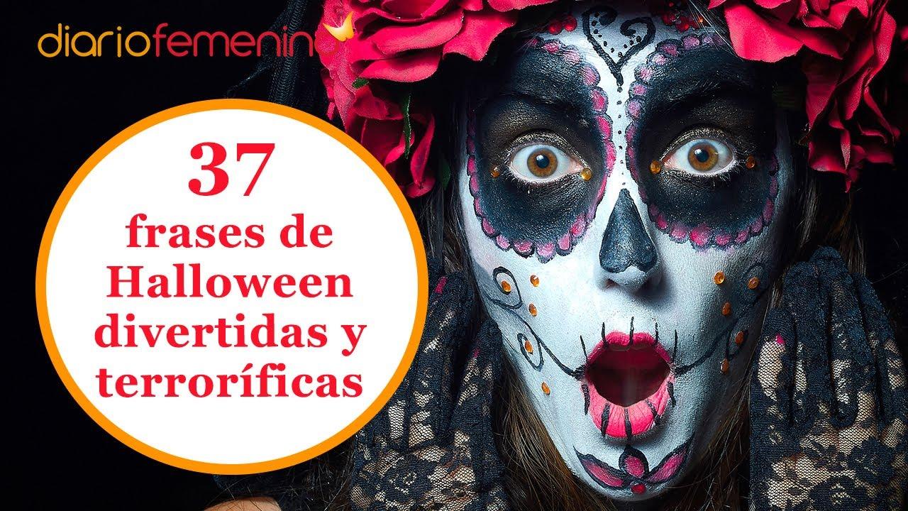 37 frases de Halloween divertidas y terroríficas para dedicar a tu pareja, amigos,familia… 👻 🎃