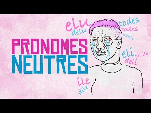 PRONOMES NEUTROS: Idiome