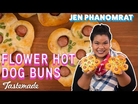 Flower Hot Dog Buns I Good Times with Jen